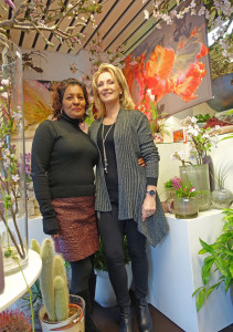 Glass & Flower Fashion samen met Wahida